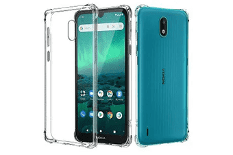 For Nokia 1.3 Shockproof Tough Air Cushion Gel Clear Transparent Heavy Duty Case Cover