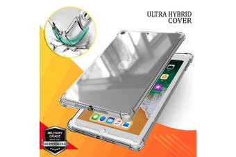 For Apple iPad Air 1 Case / Air 2 Case,  1st 2nd Gen Generation 9.7 Shockproof Tough Air Cushion Gel Clear Transparent Heavy Duty Cover