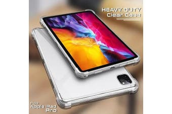 For Apple iPad Pro 11 2020 Case, iPad Pro 2nd Gen Shockproof Tough Air Cushion Gel Clear Transparent Heavy Duty Case Cover