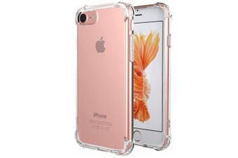 For Apple iPhone 7/8 Shockproof Tough Air Cushion Gel Clear Transparent Heavy Duty Case Cover