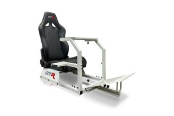 GTR Simulator GTA Racing Simulator Cockpit - Black Seat