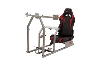 GTR Simulator GTA-F Racing Simulator - Black & Red Seat