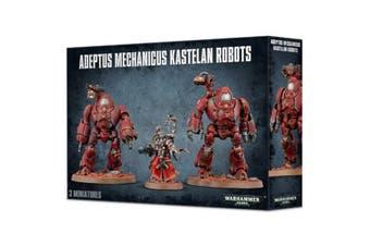 WARHAMMER 40K 40000 ADEPTUS MECHANICUS KASTELAN ROBOTS