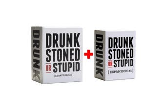 Drunk Stoned Or Stupid Main Set + #1 expansion