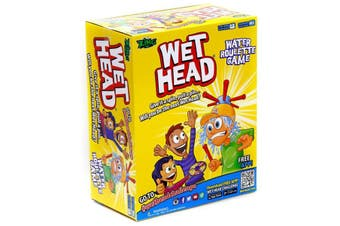 Wet Head Pie Face Game Outdoor Family Game Kids Game Summer