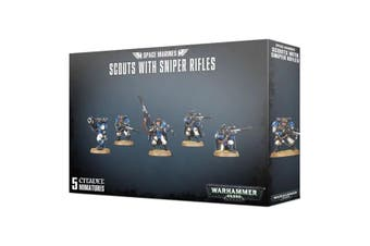 Warhammer 40K Space Marines Scouts with Sniper Rifles 2019