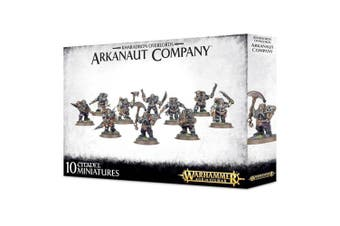 Warhammer 40K Age of Sigmar Kharadron Overlords Arkanaut Company