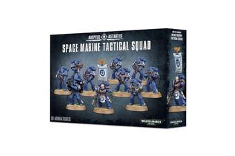 Warhammer 40k 40000 Adeptsu Astartes Space Marine Tactical Squad