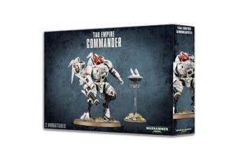 Warhammer 40,000 40k Tau Empire Commander 2 Miniatures