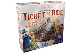 Ticket to Ride 15th Anniversary Edition