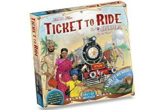 Ticket to Ride India Switzerland Map Expansion