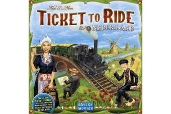 Ticket to Ride Map Collection 4 Nederland