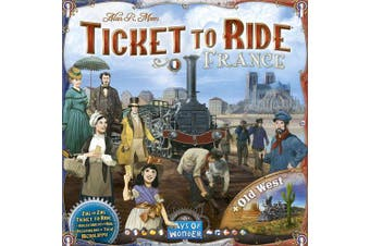 Ticket to Ride Map Collection France & Old West