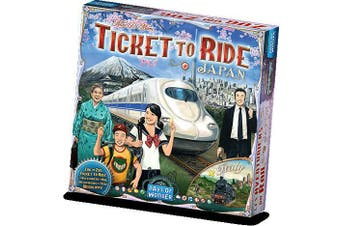 Ticket to Ride Map Collection   Volume 7 – Japan & Italy