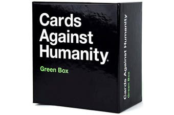 Cards Against Humanity Expansions Green Box