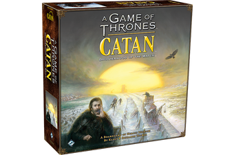 A Game of Thones Catan Brotherhood of the Watch