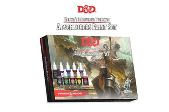 D&D Dungeon & Dragons Nolzurs Marvelous Pigments Adventurers Paint Set
