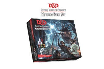 D&D Dungeon & Dragons Nolzurs Marvelous Pigments Monster Paint Set
