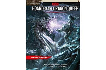D&D Dungeons & Dragons Adventure Hoard of the Dragon Queen