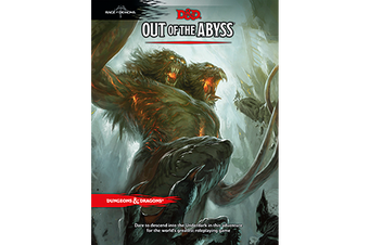 D&D Dungeons & Dragons Adventure Out of the Abyss Book
