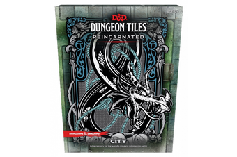 D&D Dungeons & Dragons Dungeon Tiles Reincarnated City