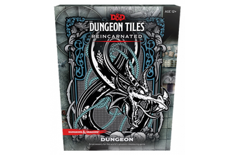 D&D Dungeons & Dragons Dungeon Tiles Reincarnated Dungeon