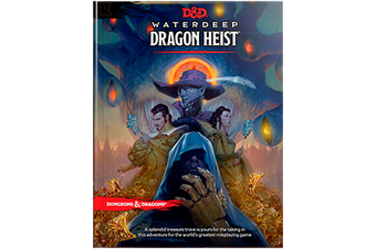 D&D Dungeons & Dragons Waterdeep Dragon Heist Book