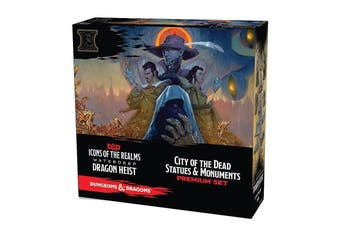 D&D Icons of the Realms Waterdeep Dragon Heist Set 9 Case Incentive