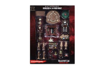 D&D Icons of the Realms Waterdeep Dungeon of the Mad Mage Halasters Lab Premium Set