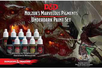 D&D Nolzurs Marvelous Pigments Underdark Paint Set