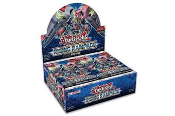 Yugioh Rising Rampage Booster Box
