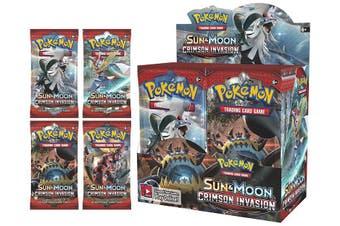 Pokemon Sun And Moon Crimson Invasion Booster Box
