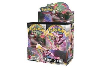 POKEMON TCG Sword and Shield Rebel Clash Booster Box