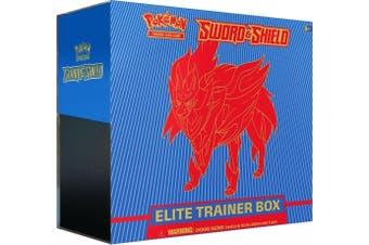 POKEMON TCG Sword & Shield Elite Trainer Box Zamazenta ETB