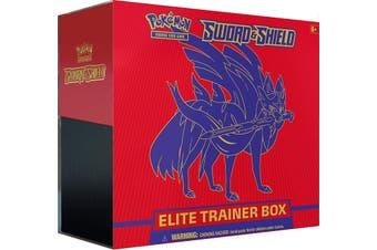 POKEMON TCG Sword & Shield Elite Trainer Box Zacian ETB