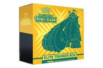 POKEMON TCG Sword and Shield Rebel Clash Trainer Box