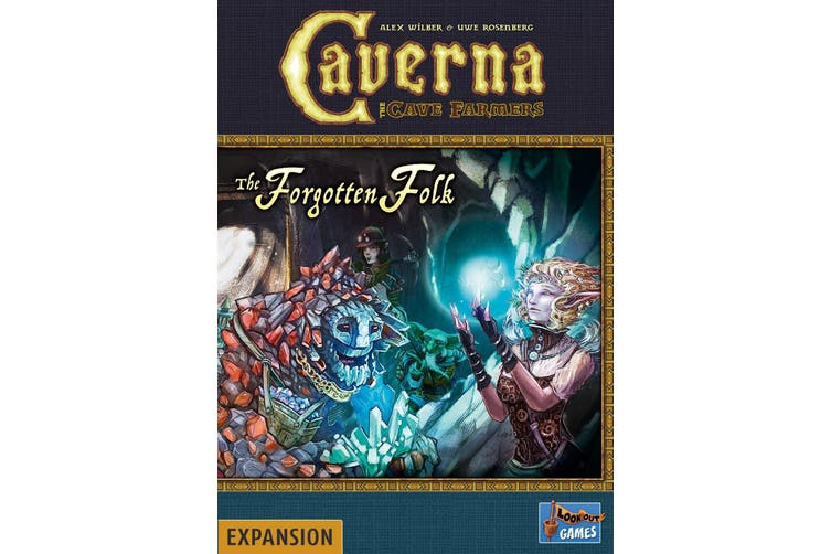 Caverna - Forgotten Folk Expansion