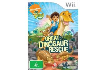 Go! Diego Go! Dinosaur Rescue (Wii)