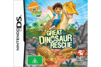 Go! Diego Go! Dinosaur Rescue (DS)