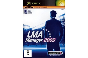 LMA Manager 2005 [Pre-Owned] (Xbox (Original))