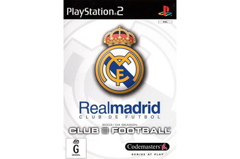 Club Football: Real Madrid [Pre-Owned] (PS2)