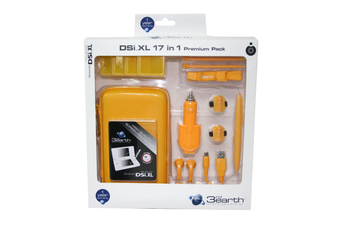 DSi XL 3rd Earth 17 in 1 Premium Pack Yellow