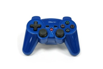 3rd Earth Bluetooth Wireless PS3 Controller (Blue)