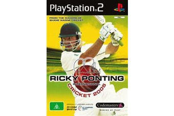 Ricky Ponting International Cricket 2005 [Pre-Owned] (PS2)