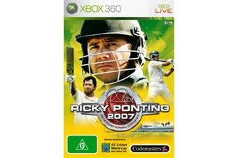 Ricky Ponting Cricket 2007 [Pre-Owned] (Xbox 360)