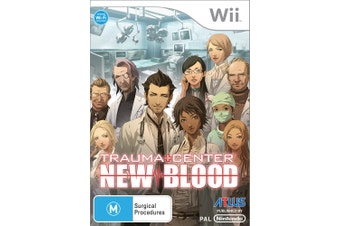 Trauma Center: New Blood [Pre-Owned] (Wii)