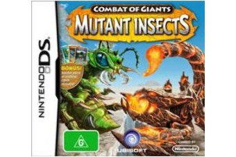 Combat of Giants: Mutant Insects [Pre-Owned] (DS)