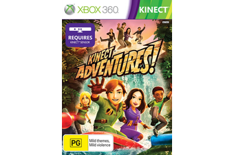Kinect Adventures [Pre-Owned] (Xbox 360)