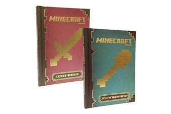 Bundle: Official Minecraft Construction & Combat Handbooks