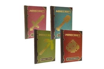 Bundle: Official Minecraft Beginner's + Redstone + Combat + Construction Handbooks